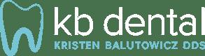 Kristen Balutowicz DDS PC Desktop Logo